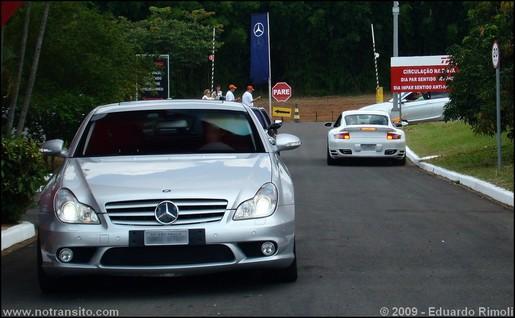 Mercedes-Benz CLS63 AMG & Porsche 911 Turbo