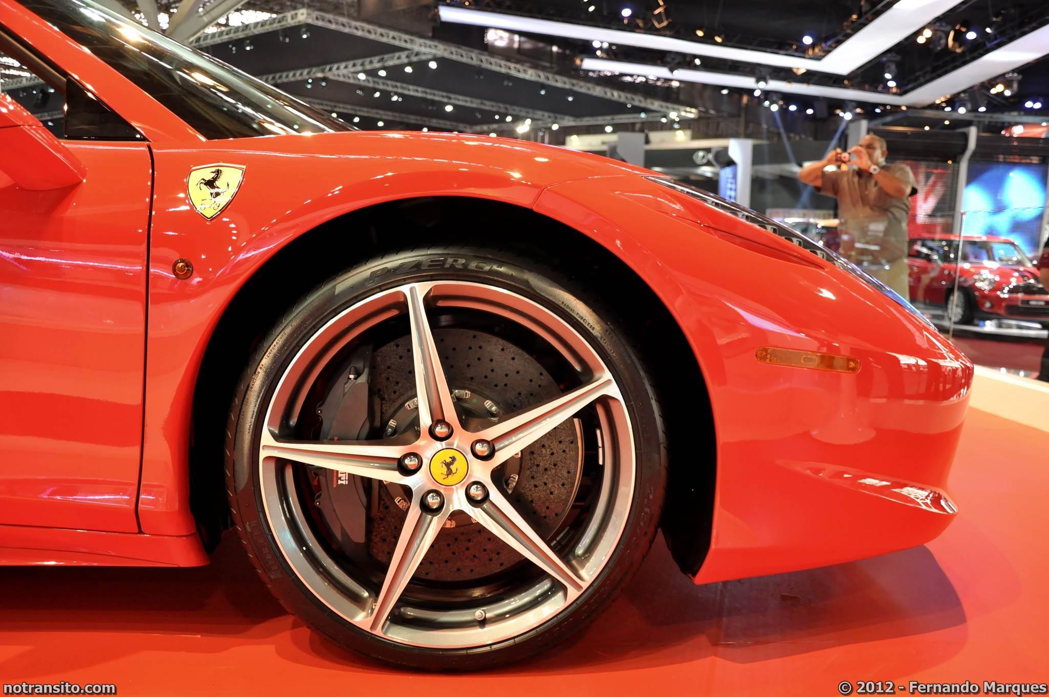 Salão do Automóvel de São Paulo 2012, 27º Salão do Automóvel de São Paulo, Ferrari 458 Spider