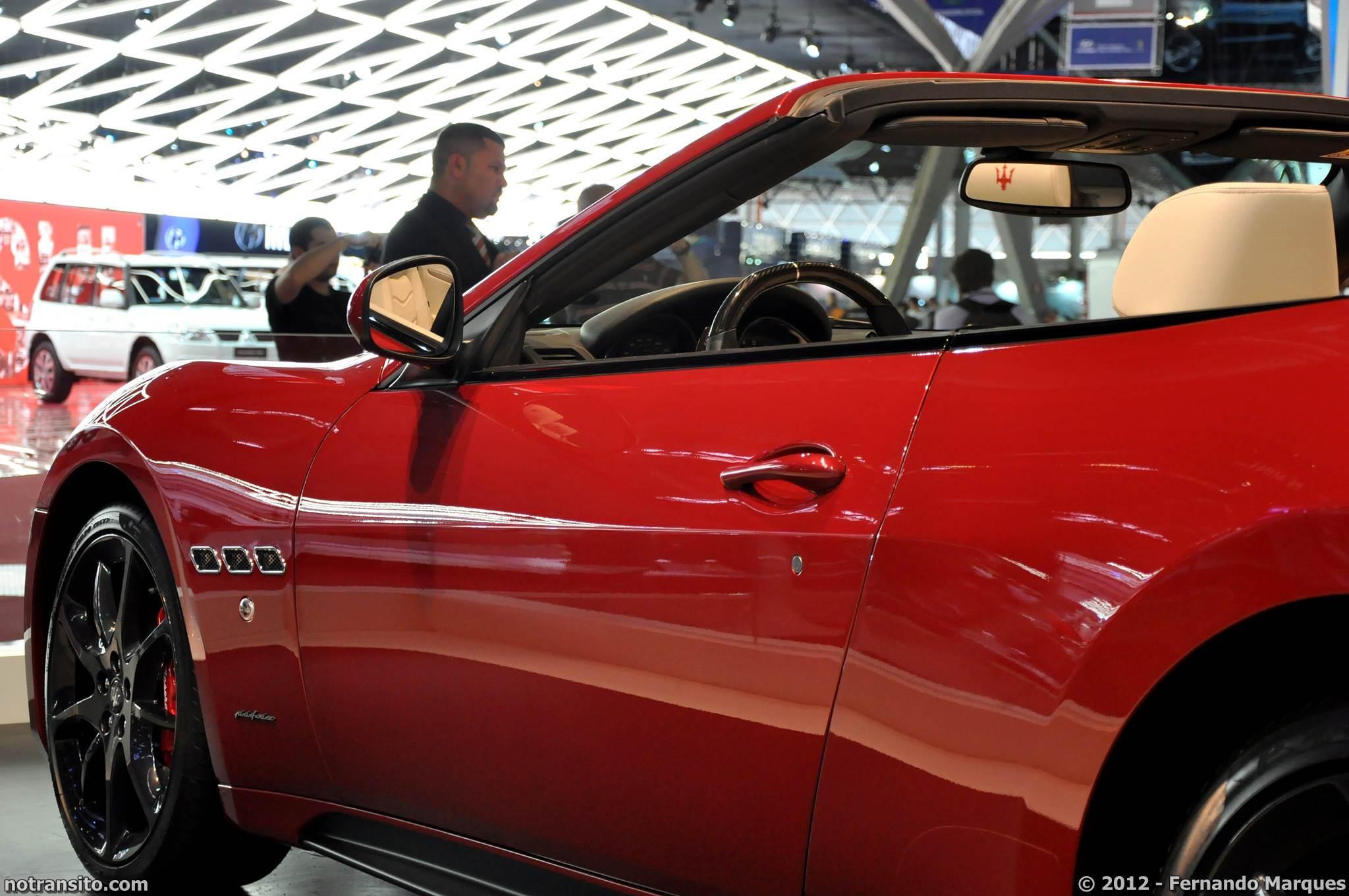 Salão do Automóvel de São Paulo 2012, 27º Salão do Automóvel de São Paulo, Maserati GranCabrio Sport