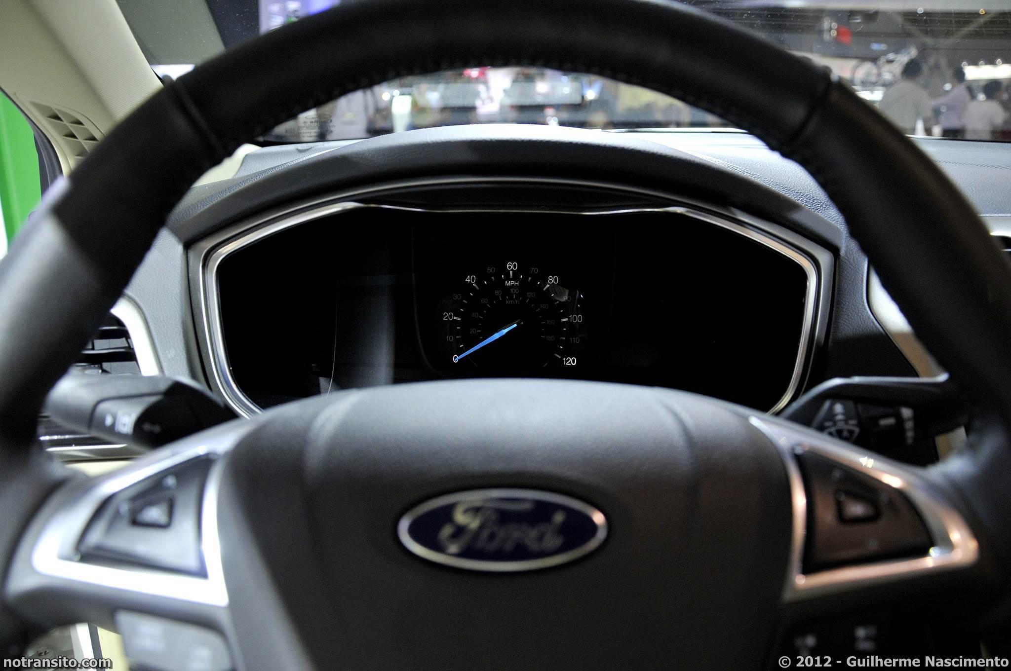 Salão do Automóvel de São Paulo 2012, 27º Salão do Automóvel de São Paulo, Ford Fusion
