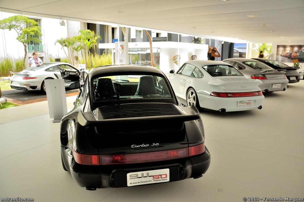 Estande Porsche 911 50 Anos, Auto Premium Show 2013