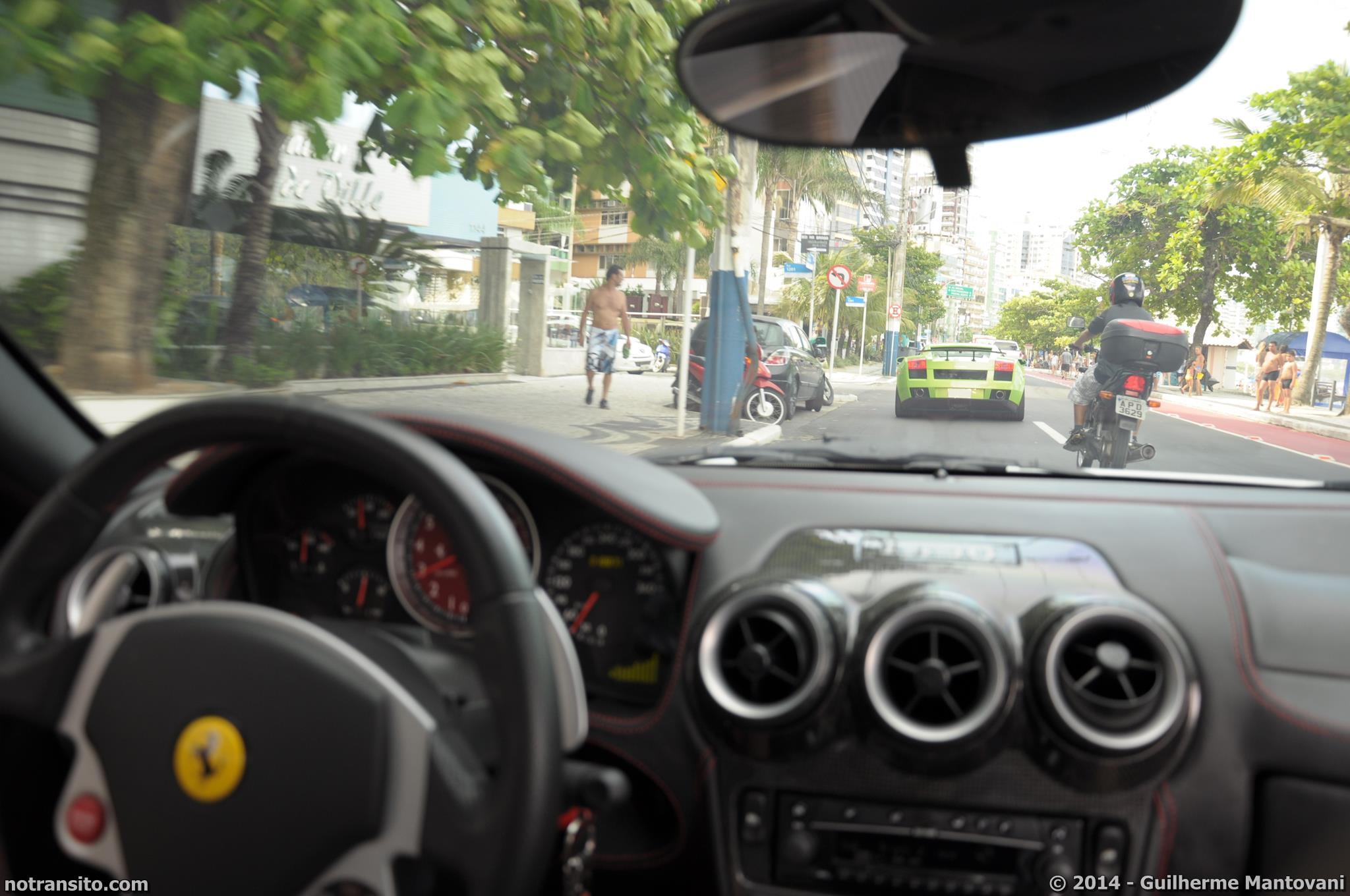 Ferrari F430 Coupe White, Meia Praia Itapema