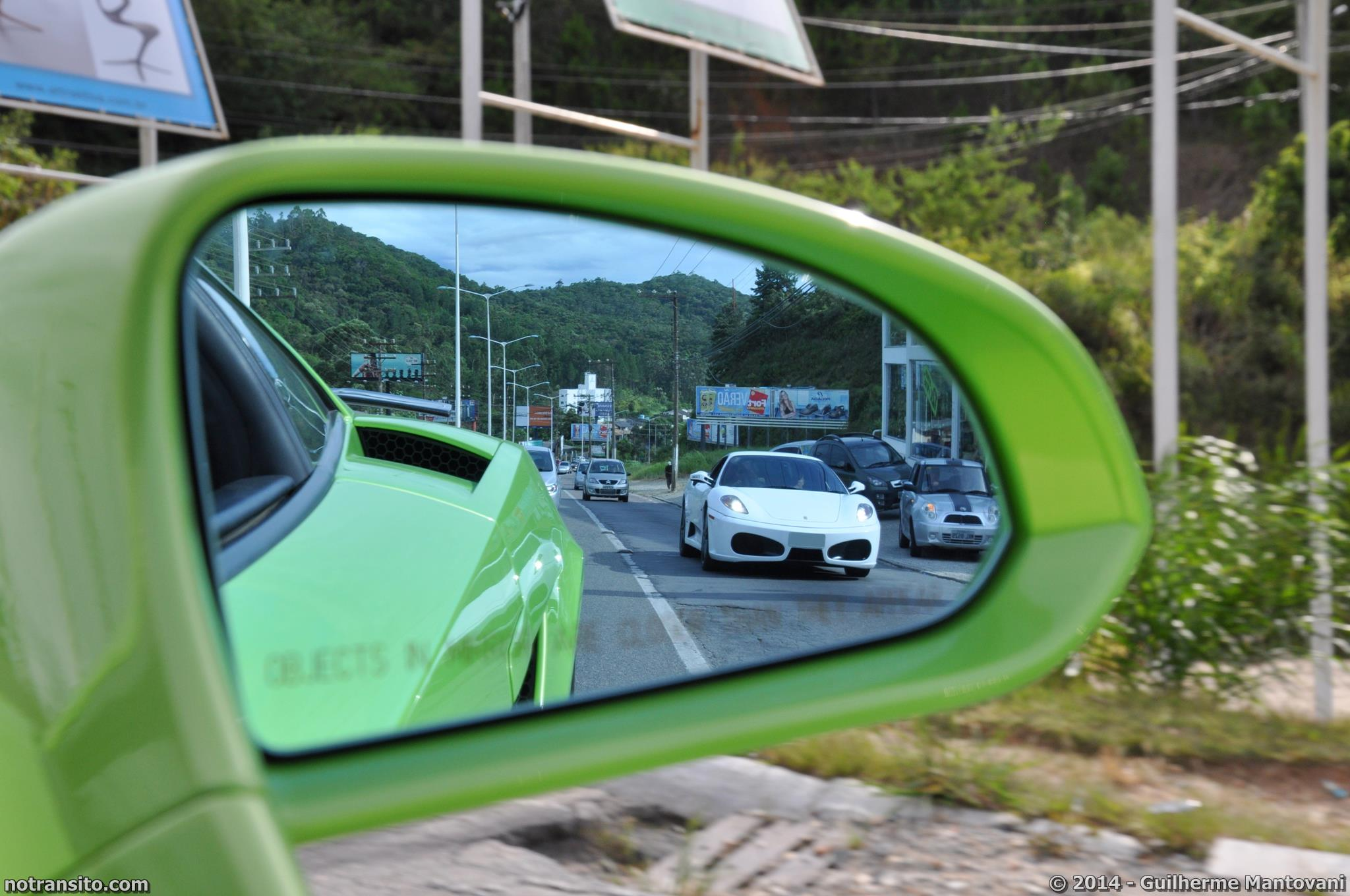 Lamborghini Gallardo Verde Ithaca, Meia Praia Itapema