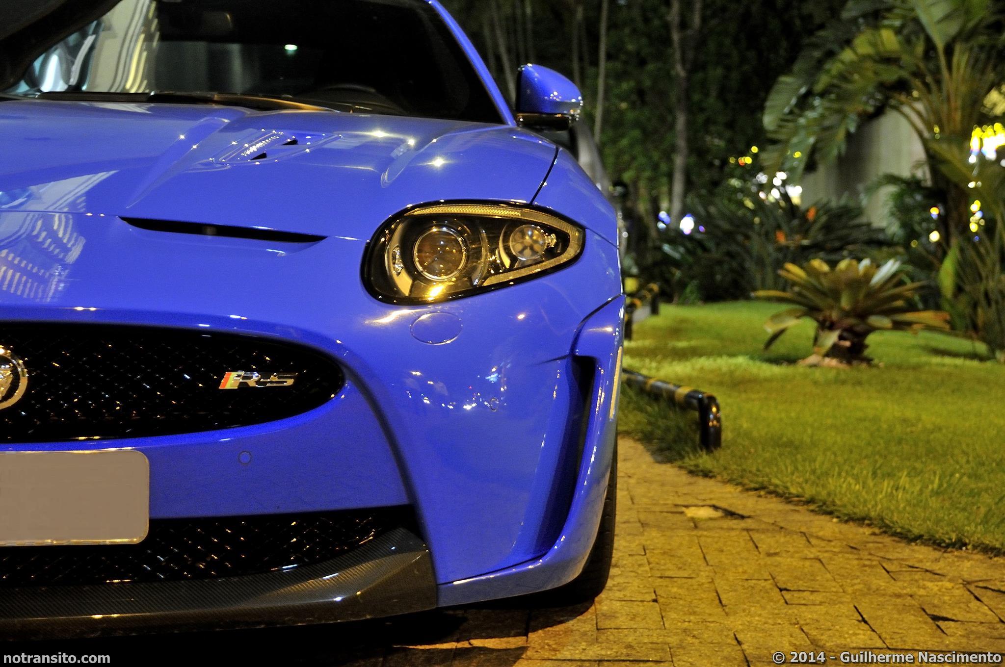 Jaguar XKR-S French Racing Blue, Hotel Majestic Florianópolis