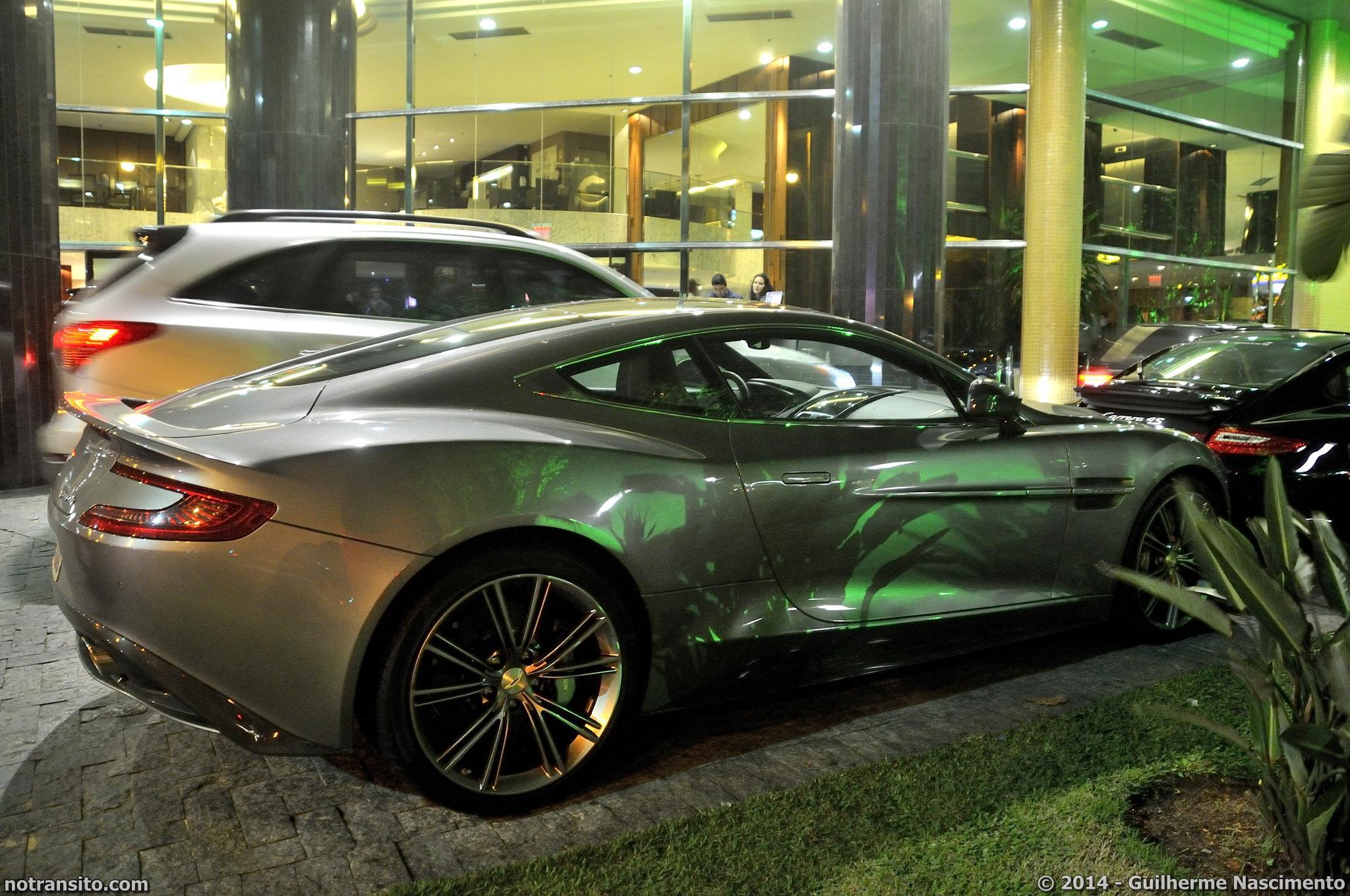Aston Martin Vanquish, Second Generation Vanquish, Tungsten Silver, Majestic Hotel Florianópolis
