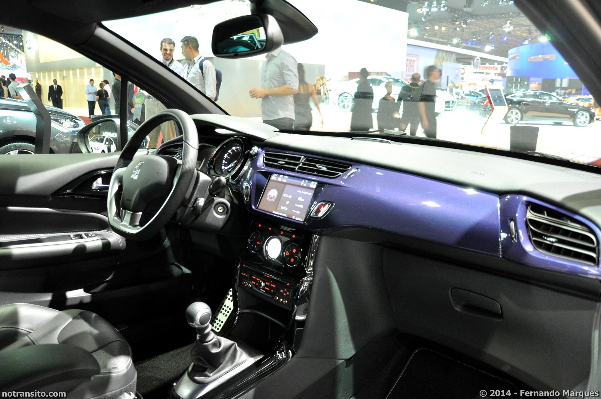 Salão do Automóvel de São Paulo 2014, 28º Salão do Automóvel de São Paulo, Citroën DS3, Citroën DS