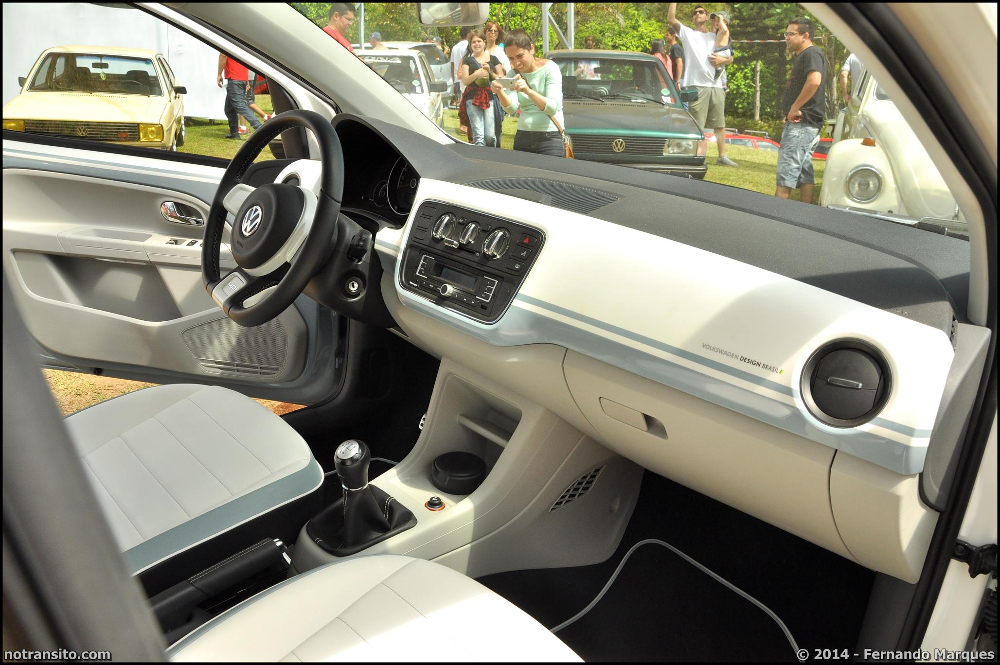 Volkswagen Up! Bubble Gun Treffen Conceito Design