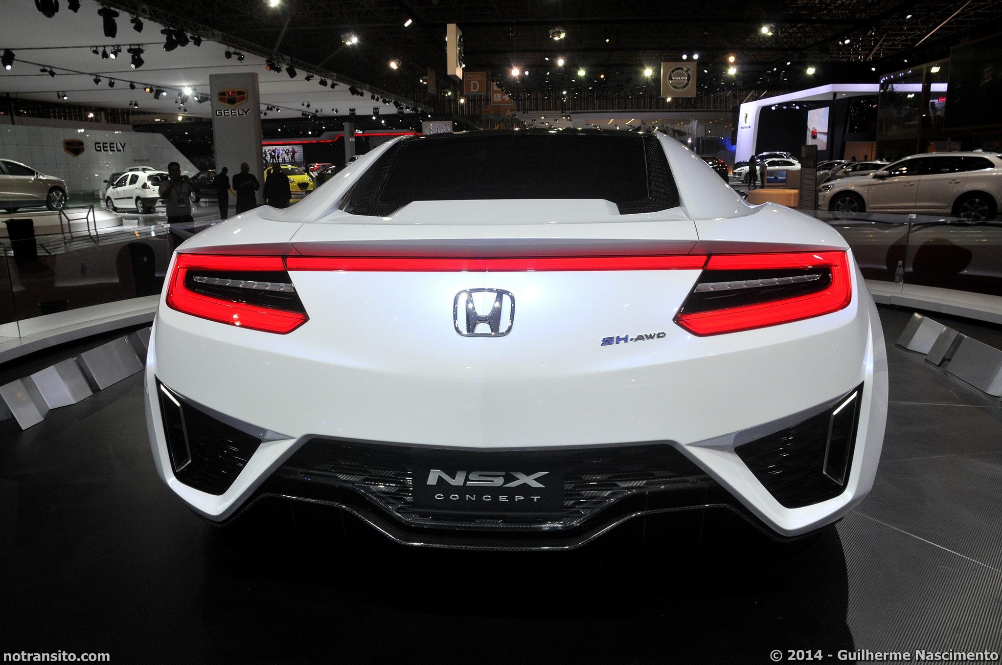 Honda NSX Concept, NSX Concept, Salão do Automóvel de São Paulo 2014, 28º Salão do Automóvel de São Paulo