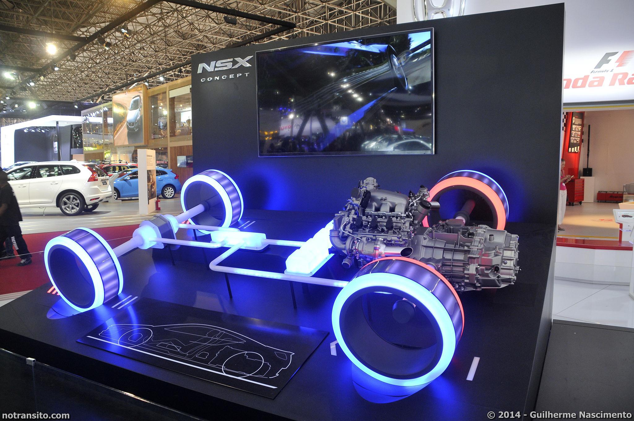SH-AWD, Sport Hybrid Super Handling All Wheel Drive, Honda NSX Concept, NSX Concept, Salão do Automóvel de São Paulo 2014, 28º Salão do Automóvel de São Paulo