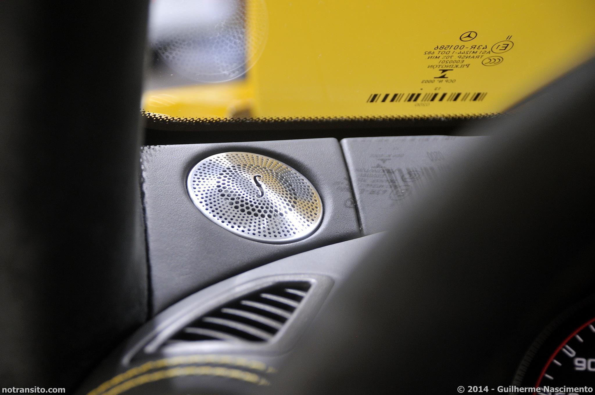 Salão do Automóvel de São Paulo 2014, 28º Salão do Automóvel de São Paulo, Mercedes-Benz AMG GT S C190 Sunbeam Yellow