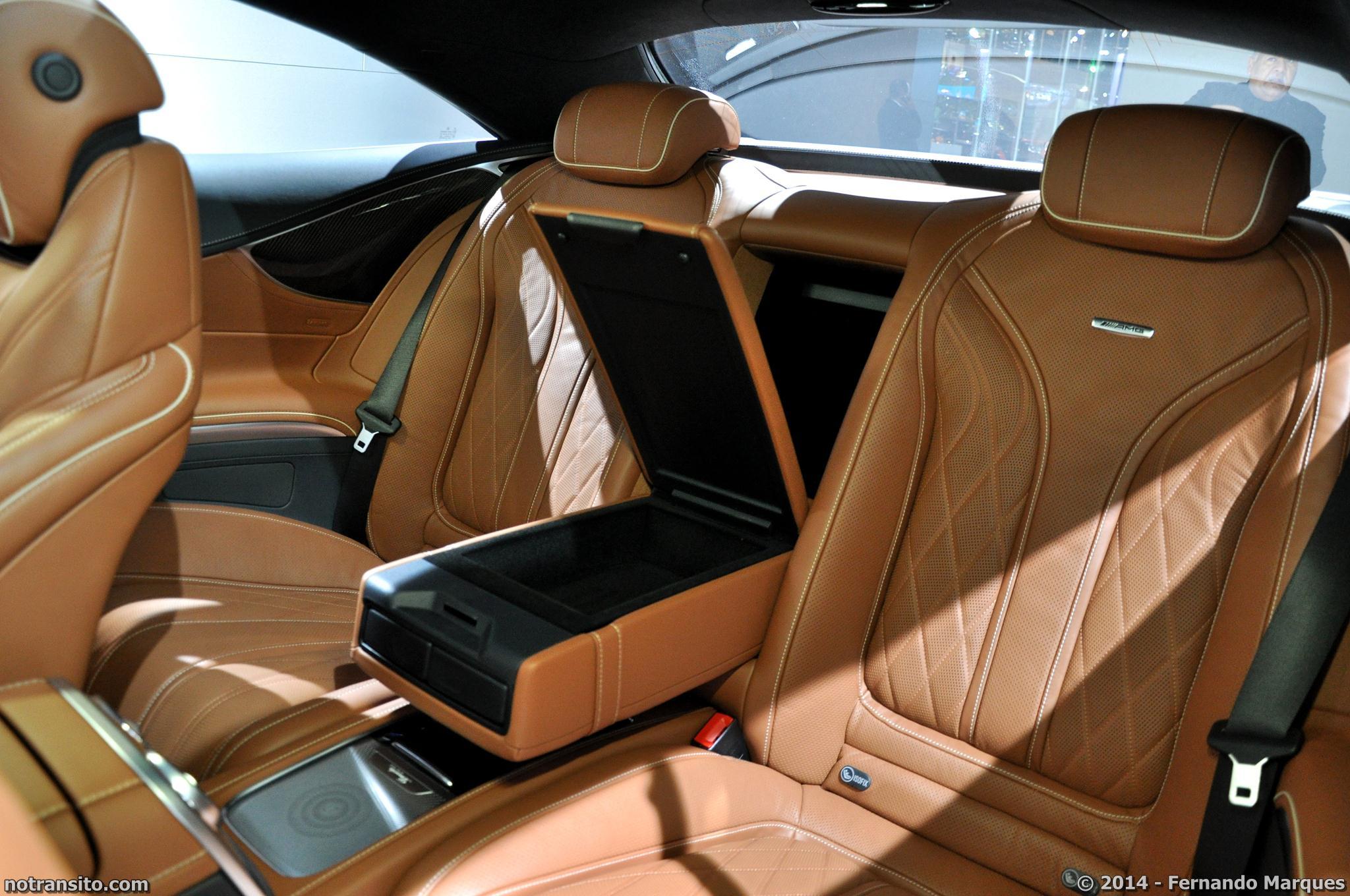 Mercedes-Benz S 63 AMG Coupé, Salão do Automóvel 2014