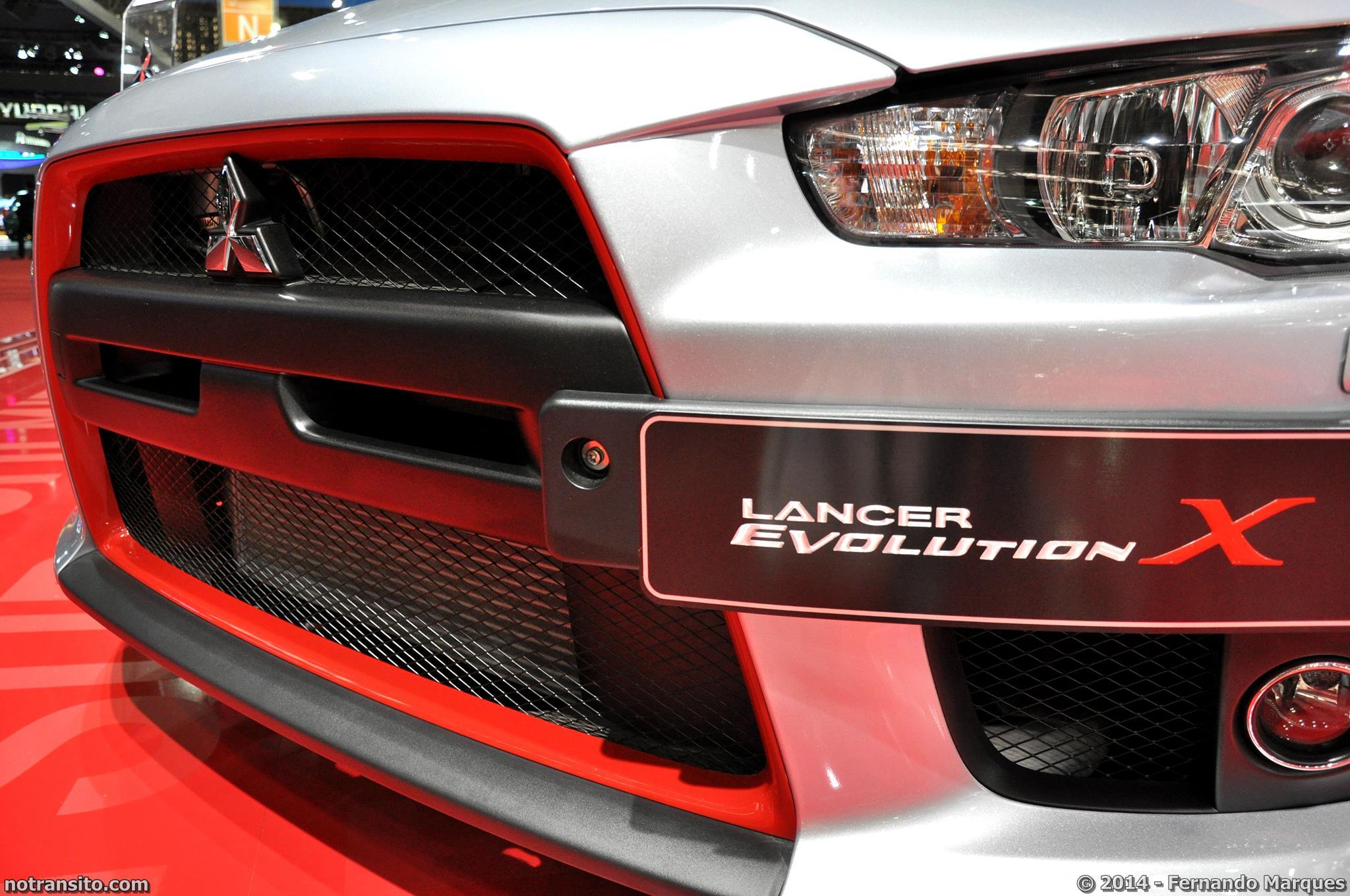 Salão do Automóvel de São Paulo 2014, 28º Salão do Automóvel de São Paulo, Mitsubishi Lancer Evolution X John Easton, John Easton, Evo X John Easton