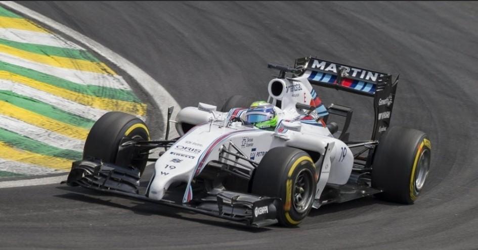 Boa prova de Massa, e em casa. Era tudo que a torcida precisava.