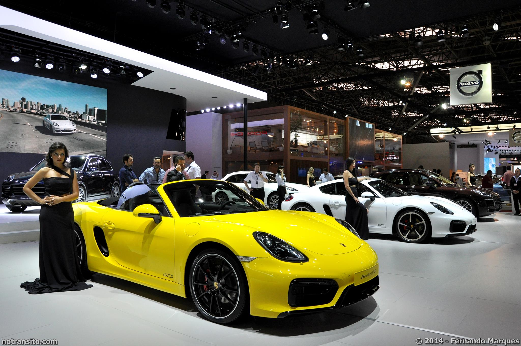 Porsche Boxster 2014 Yellow Www Imgkid Com The Image
