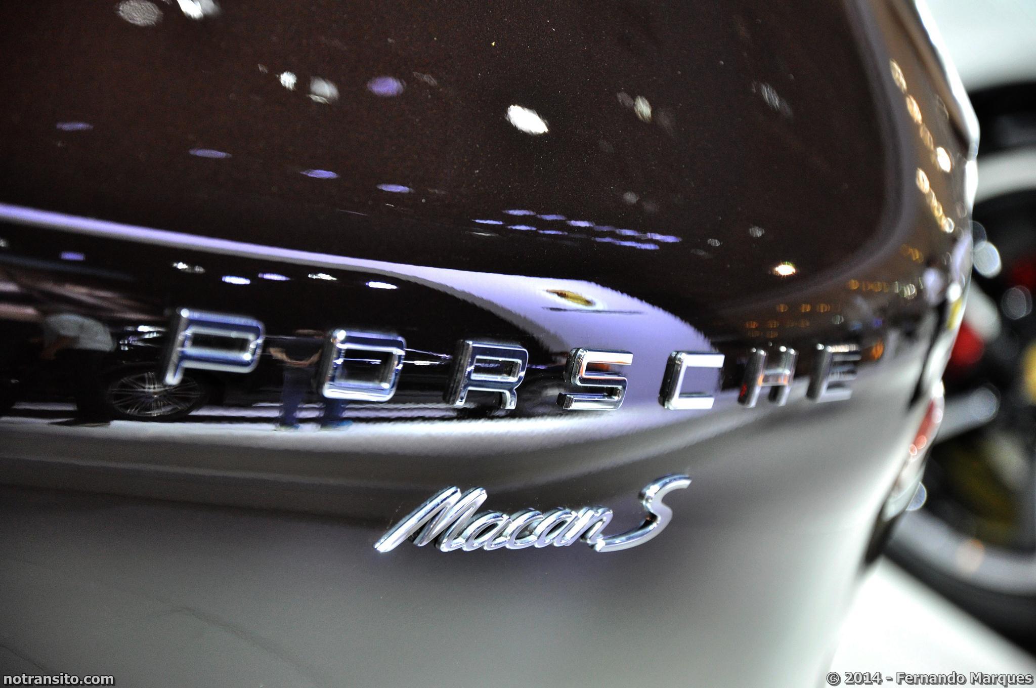 Salão do Automóvel de São Paulo 2014, 28º Salão do Automóvel de São Paulo, Porsche Macan S Mahogany Metallic