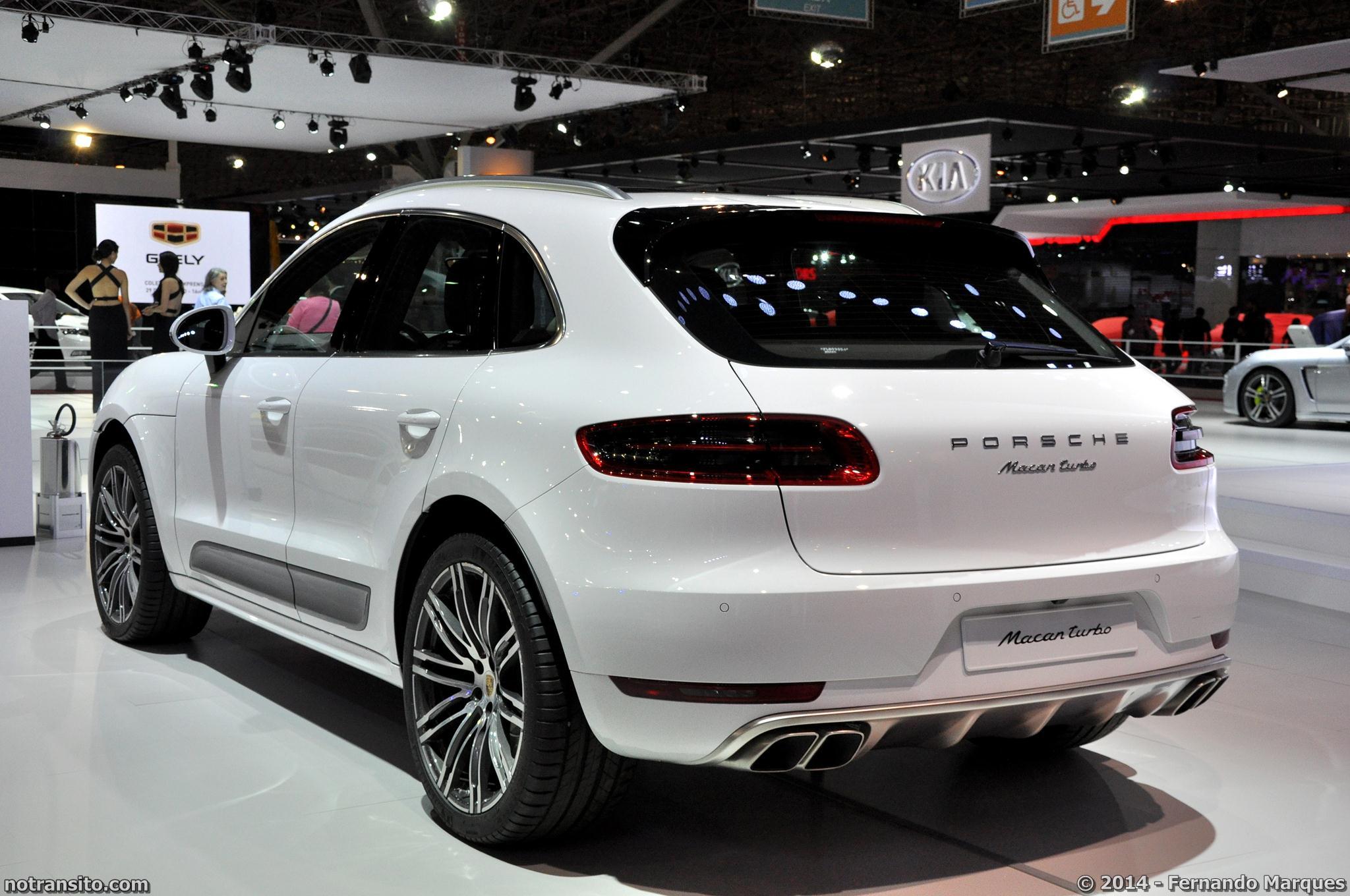 Porsche Macan S Amp Porsche Macan Turbo No Tr 226 Nsito