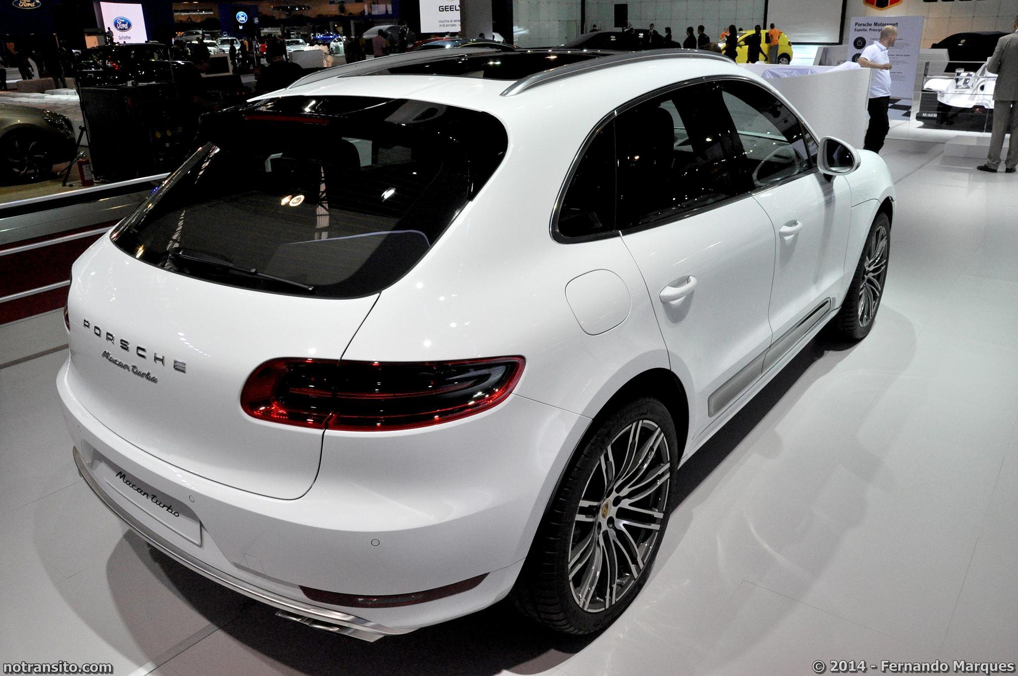 Salão do Automóvel de São Paulo 2014, 28º Salão do Automóvel de São Paulo, Porsche Macan Turbo White