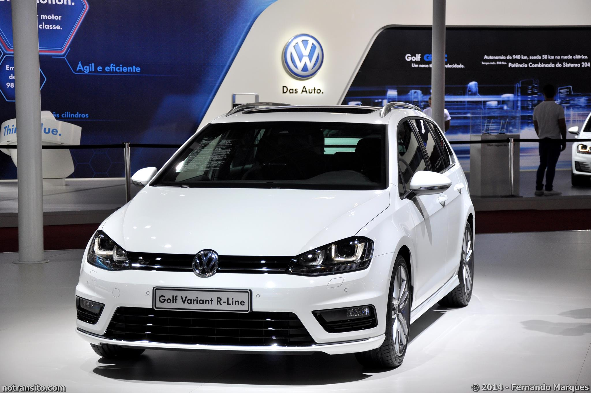 Volkswagen golf variant r line no tr nsito for R line exterieur golf variant