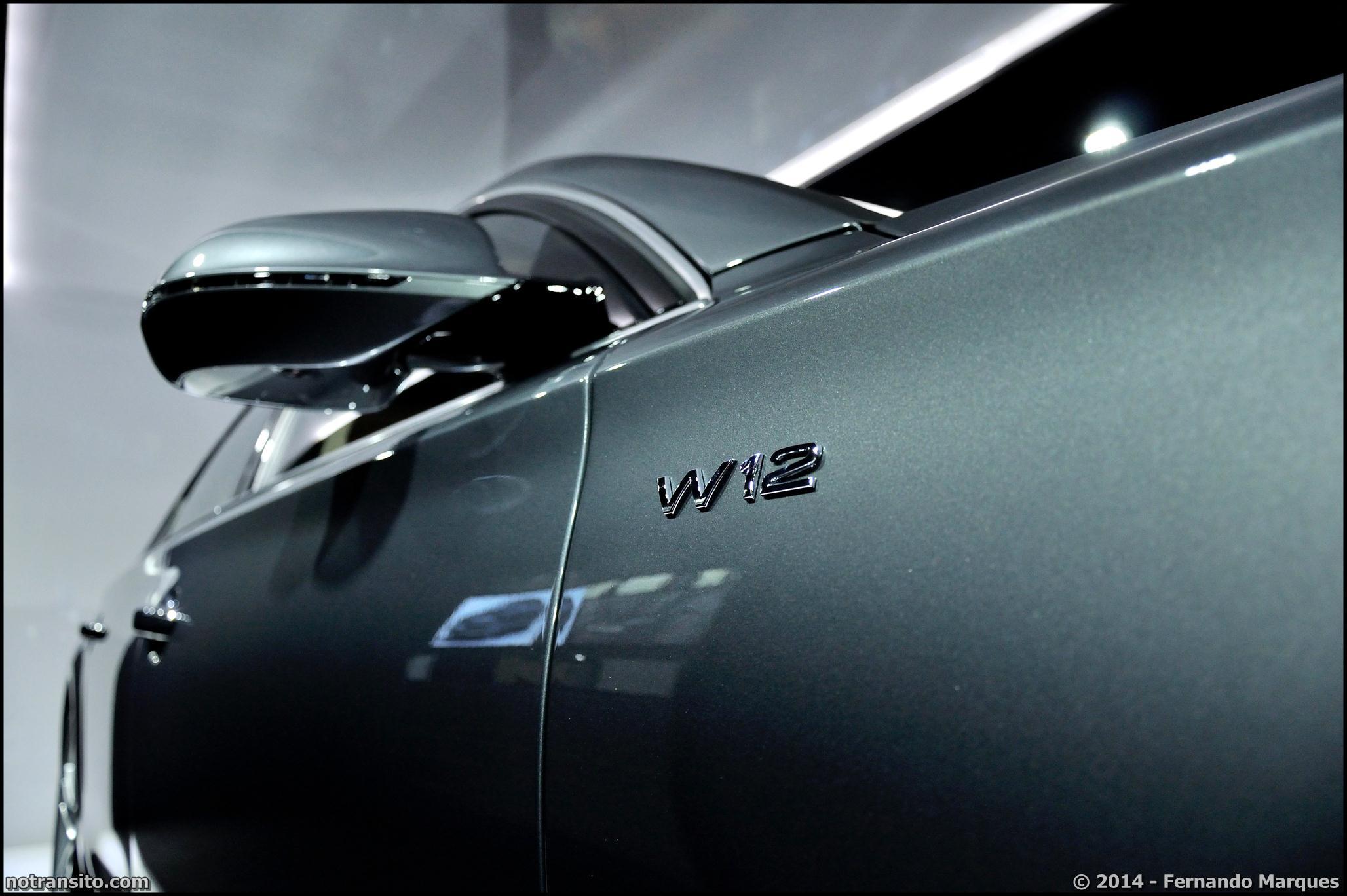 Audi A8 L W12 Exclusive Concept, Salão do Automóvel 2014