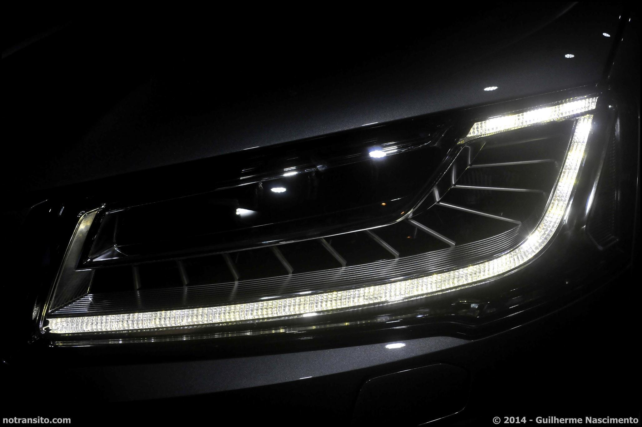 Audi A8 L W12 Exclusive Concept, Salão do Automóvel 2014, Matrix LED
