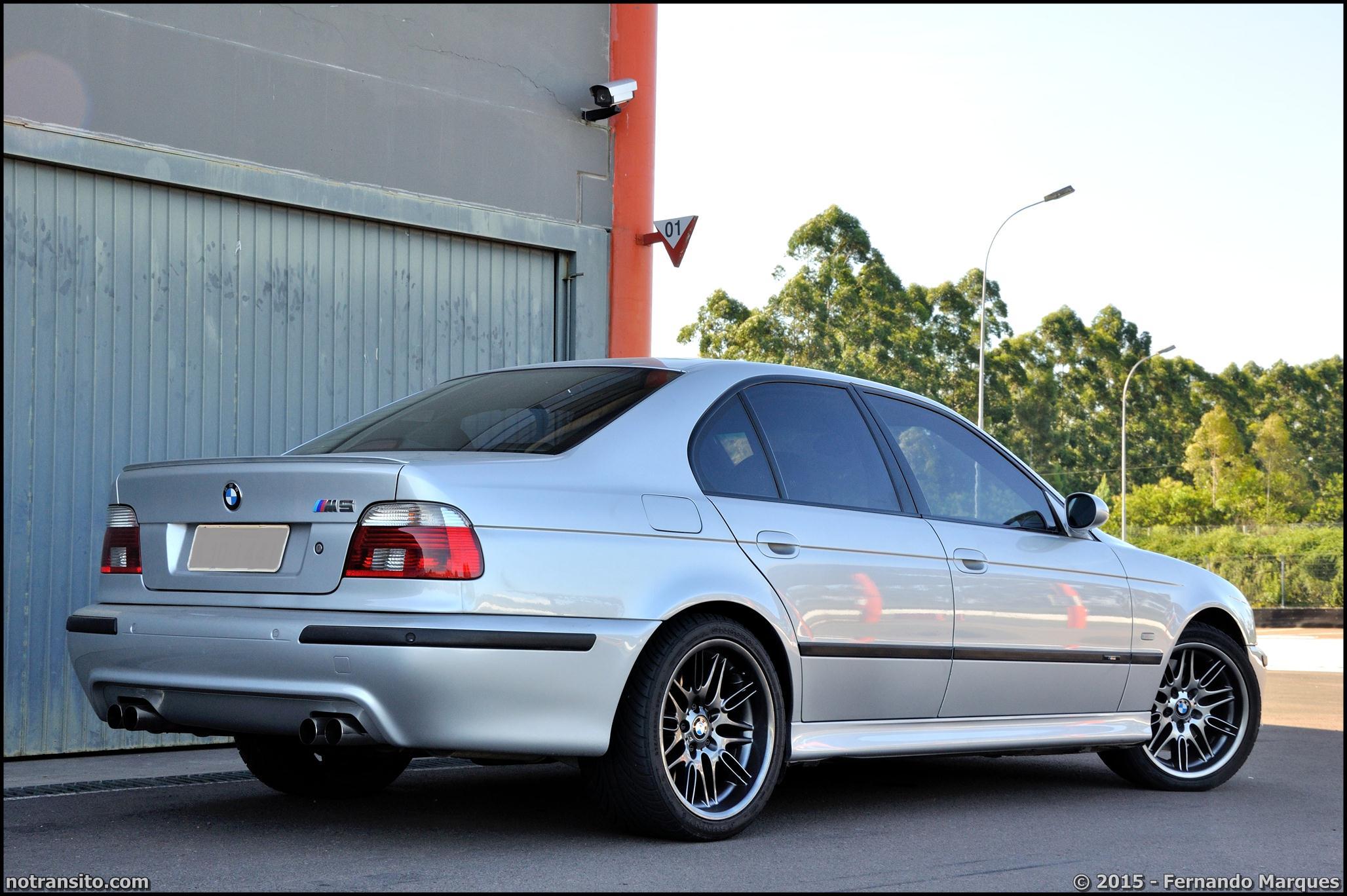 BMW M5 E39 Prata Silver