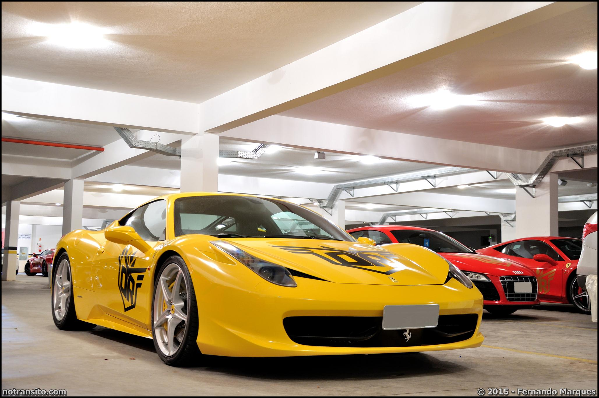 Dream Route, Ferrari 458 Italia