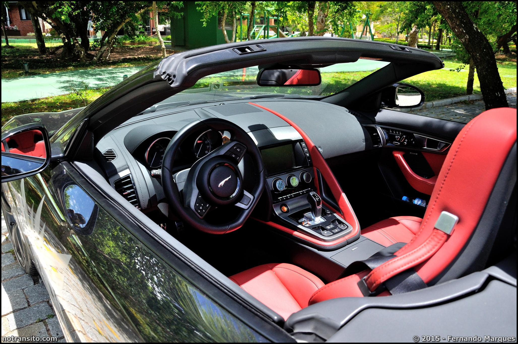 Dream Route, Jaguar F-Type S Roadster Interior