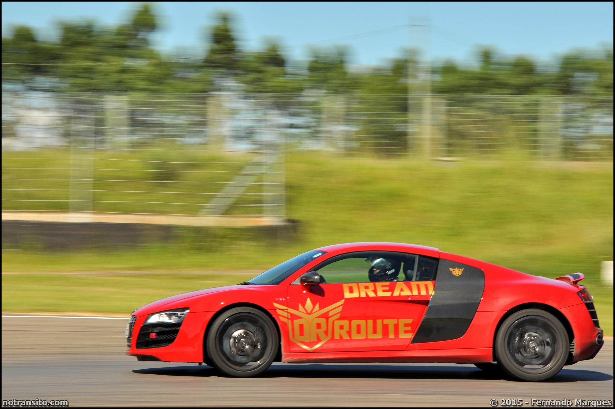 Dream Route, Audi R8 V10