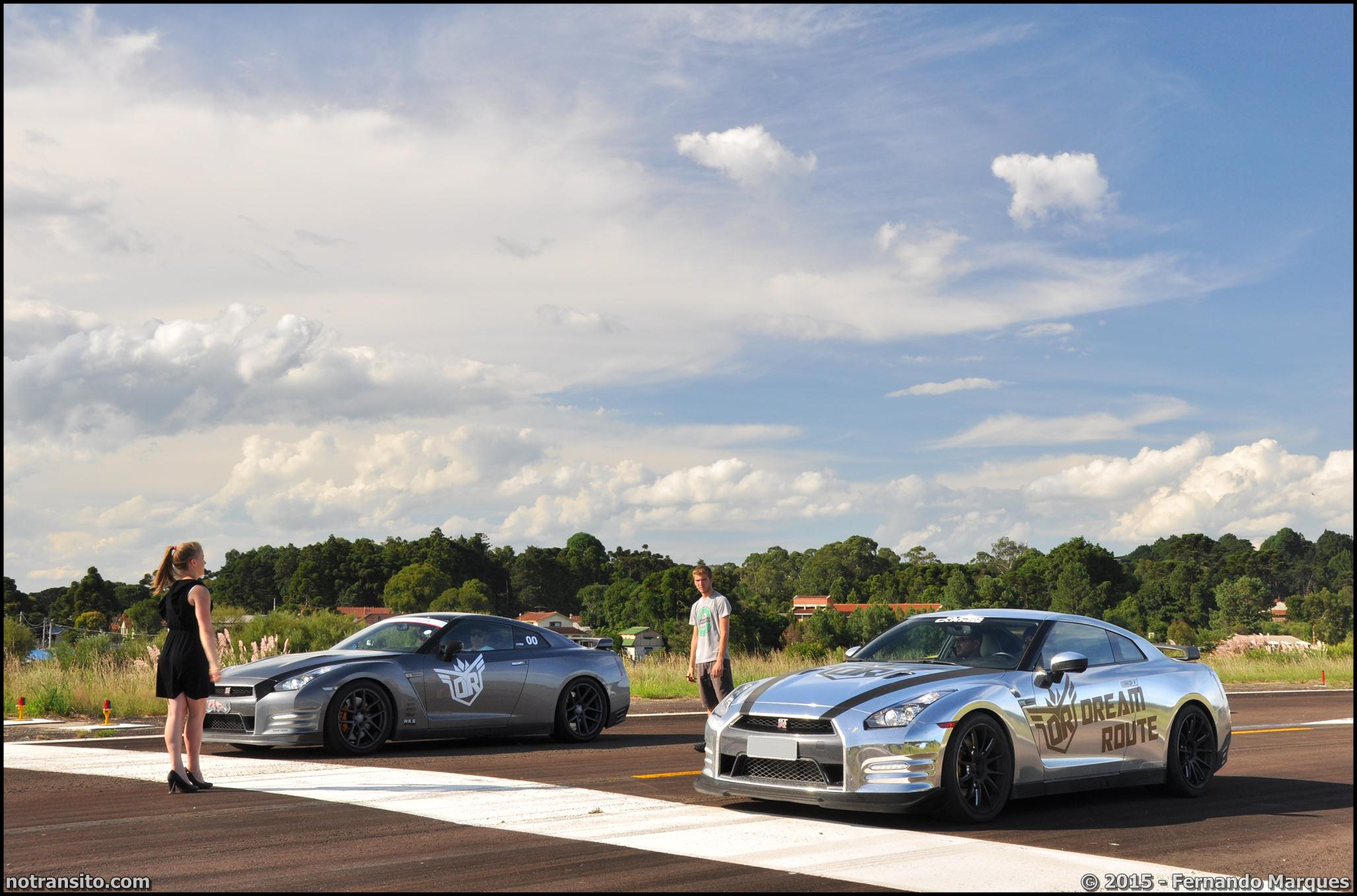 Dream Route, NIssan GT-R combo drag race