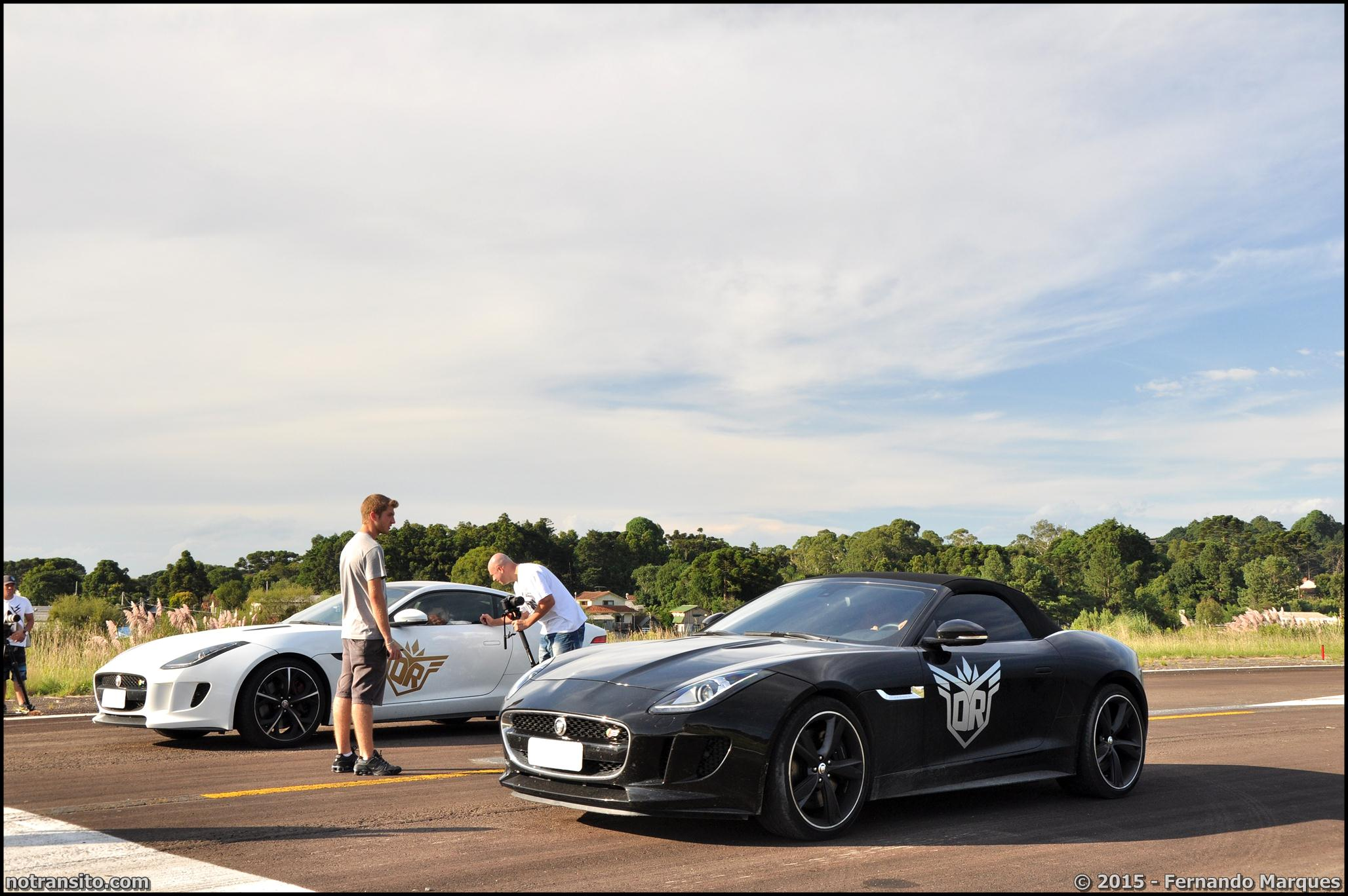 Dream Route, Jaguar F-Type Coupe Roadster combo