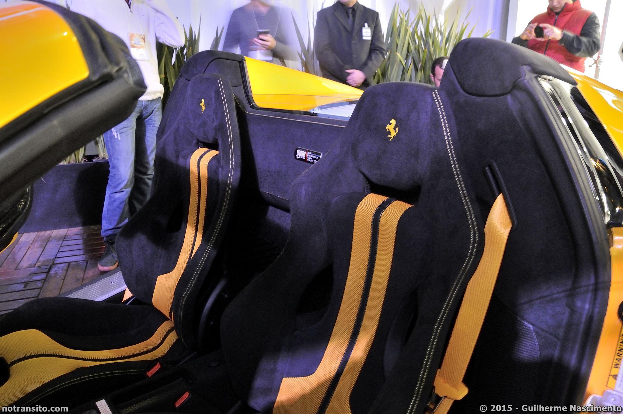 Ferrari 458 Speciale Aperta, Ferrari 458 Speciale A, Giallo Triplo Strato, Marina Tedesco, Lançamento 458 Speciale Aperta, Via Itália
