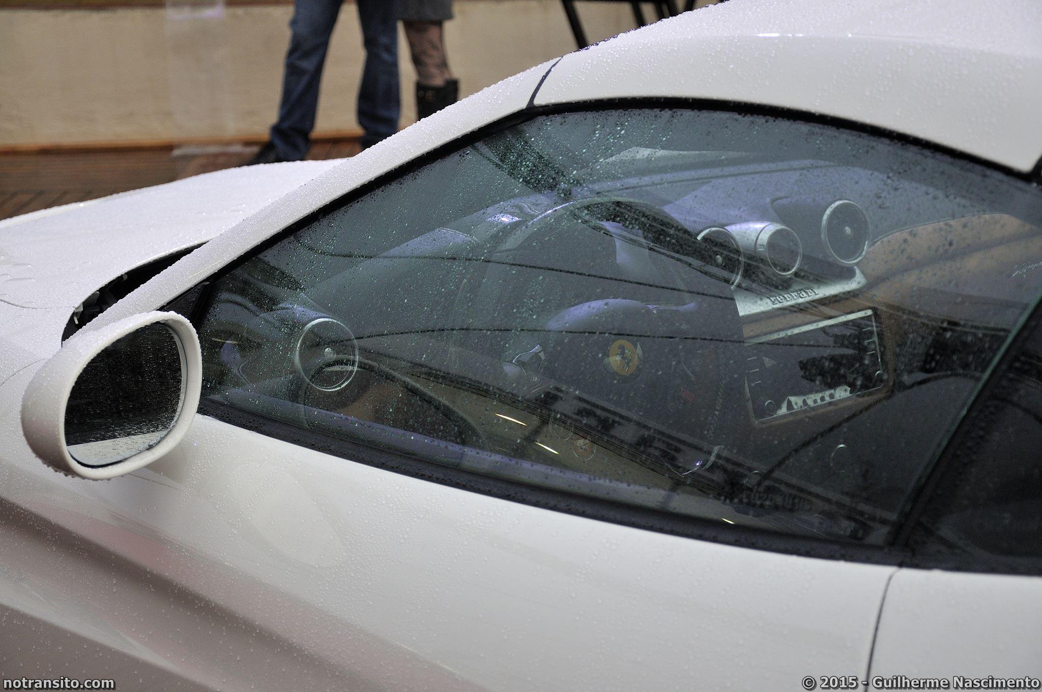 Ferrari California T, Bianco Avus, Marina Tedesco, Lançamento 458 Speciale Aperta, Via Itália
