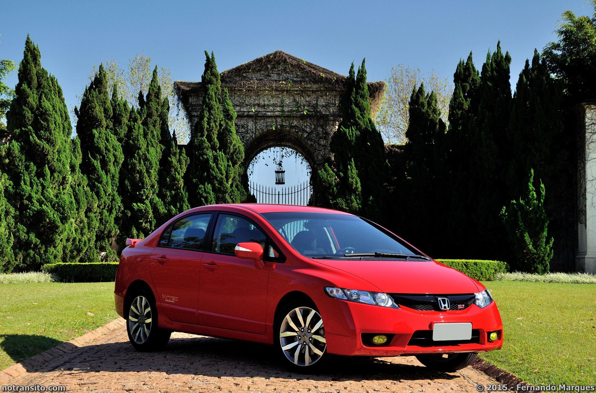 Honda Civic Si Vermelho Rally