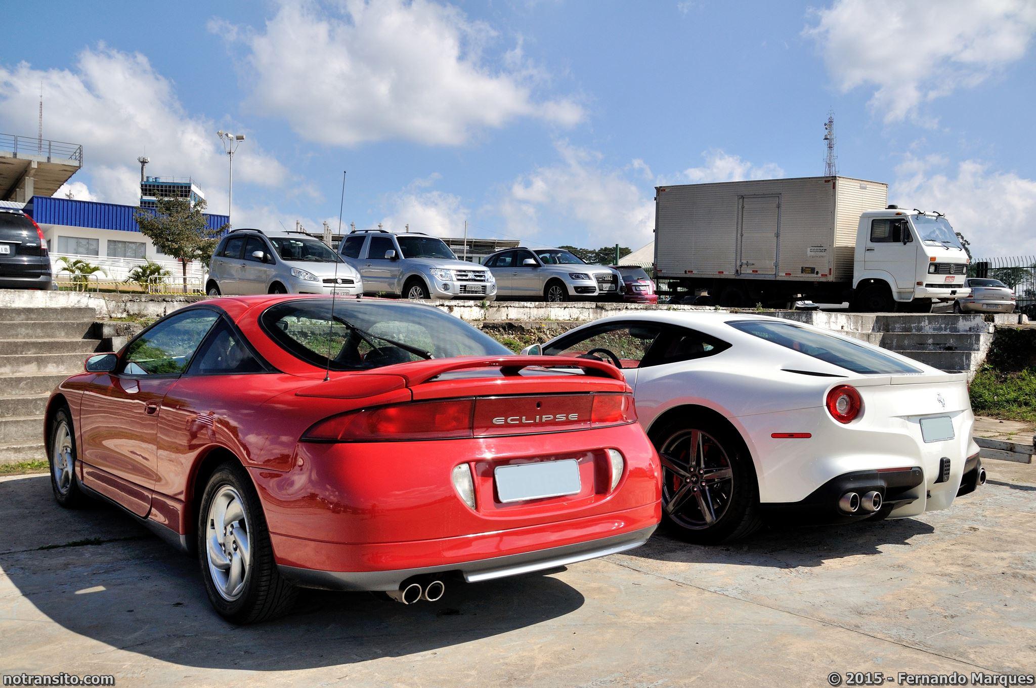 Ferrari f12berlinetta Bianco Fuji, Mistubishi Eclipse GS