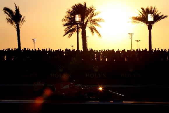 Vettel não conseguiria mais que um quarto lugar. Foi o que ele fez.