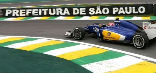 Primeira vez que Nasr correu de Fórmula 1 em Interlagos.