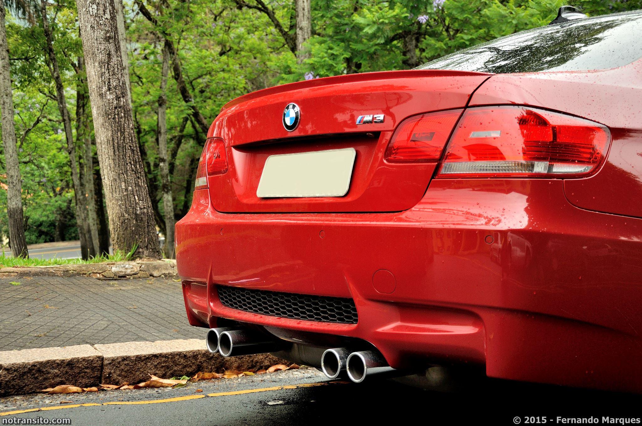 BMW M3 E92 Melbourne Red