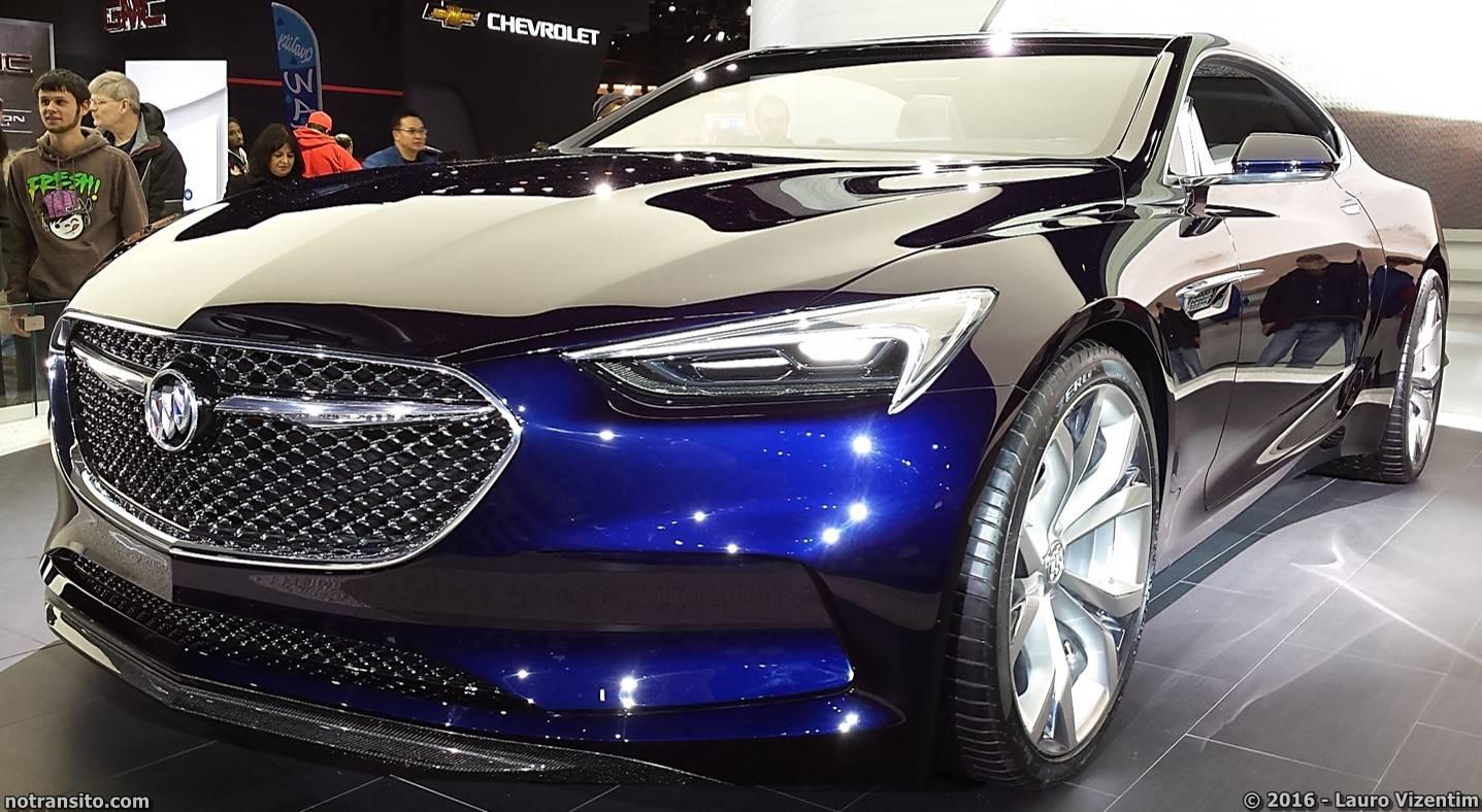 Buick Avista Concept Detroit Auto Show 2016