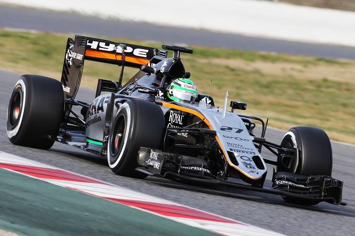 Olho na Force India.