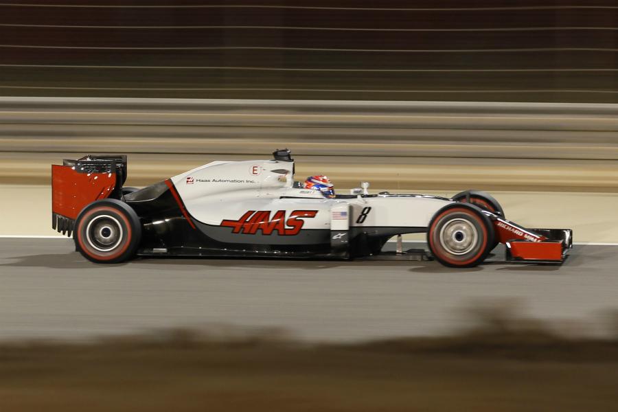 Grosjean segue surpreendendo. E parece sólido esse carro da Haas.