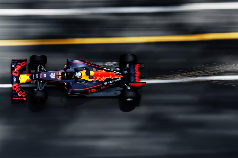 Primeira pole de Ricciardo na carreira. Mas  faltou a vitória.