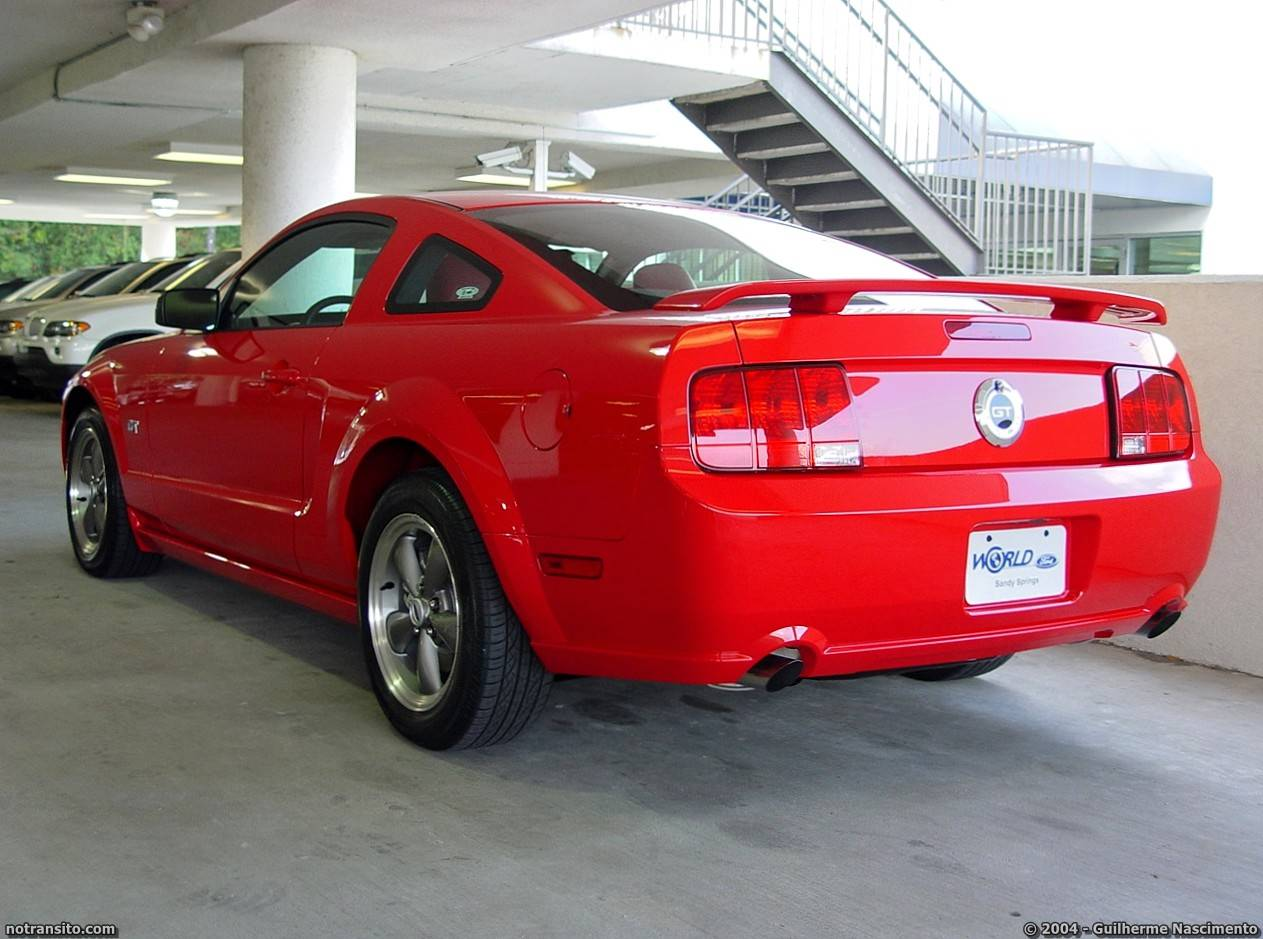 Ford Mustang GT Torch Red