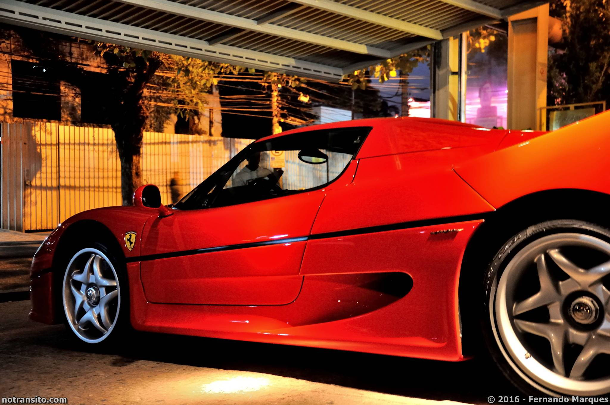Ferrari F50 Rosso Corsa, Ferrari F50 Brasil, Ferrari F50 São Paulo, A Figueira Rubaiyat