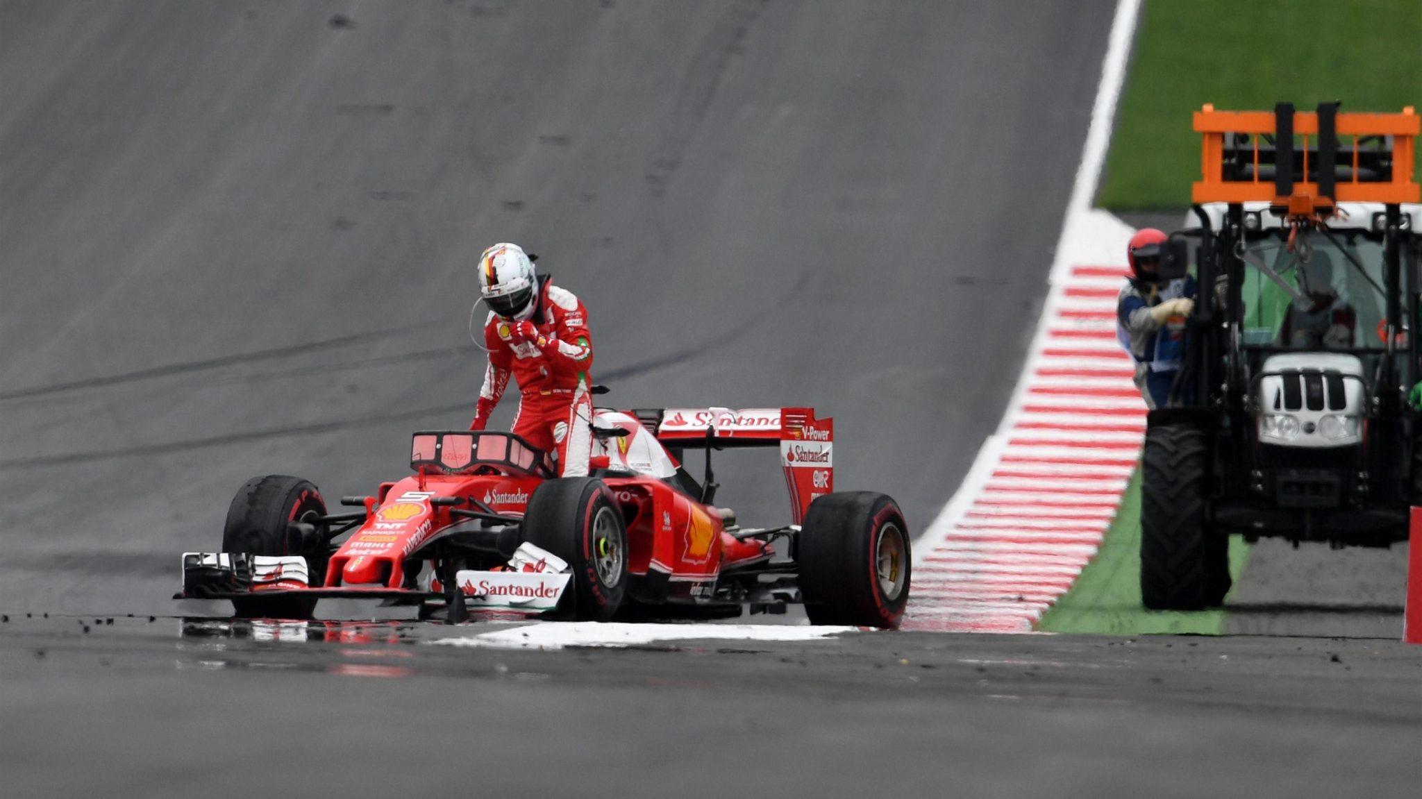 Presentão para Vettel no seu aniversário.