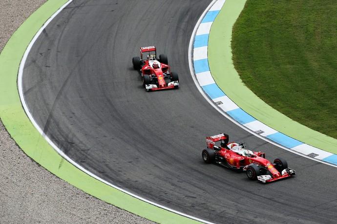 Ficando para trás. A Ferrari perde a vice liderança do mundial para a Red Bull