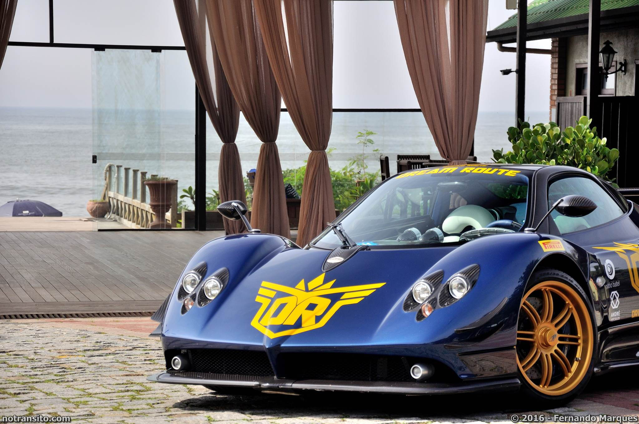 Pagani Zonda F Blue 76130, Dream Route