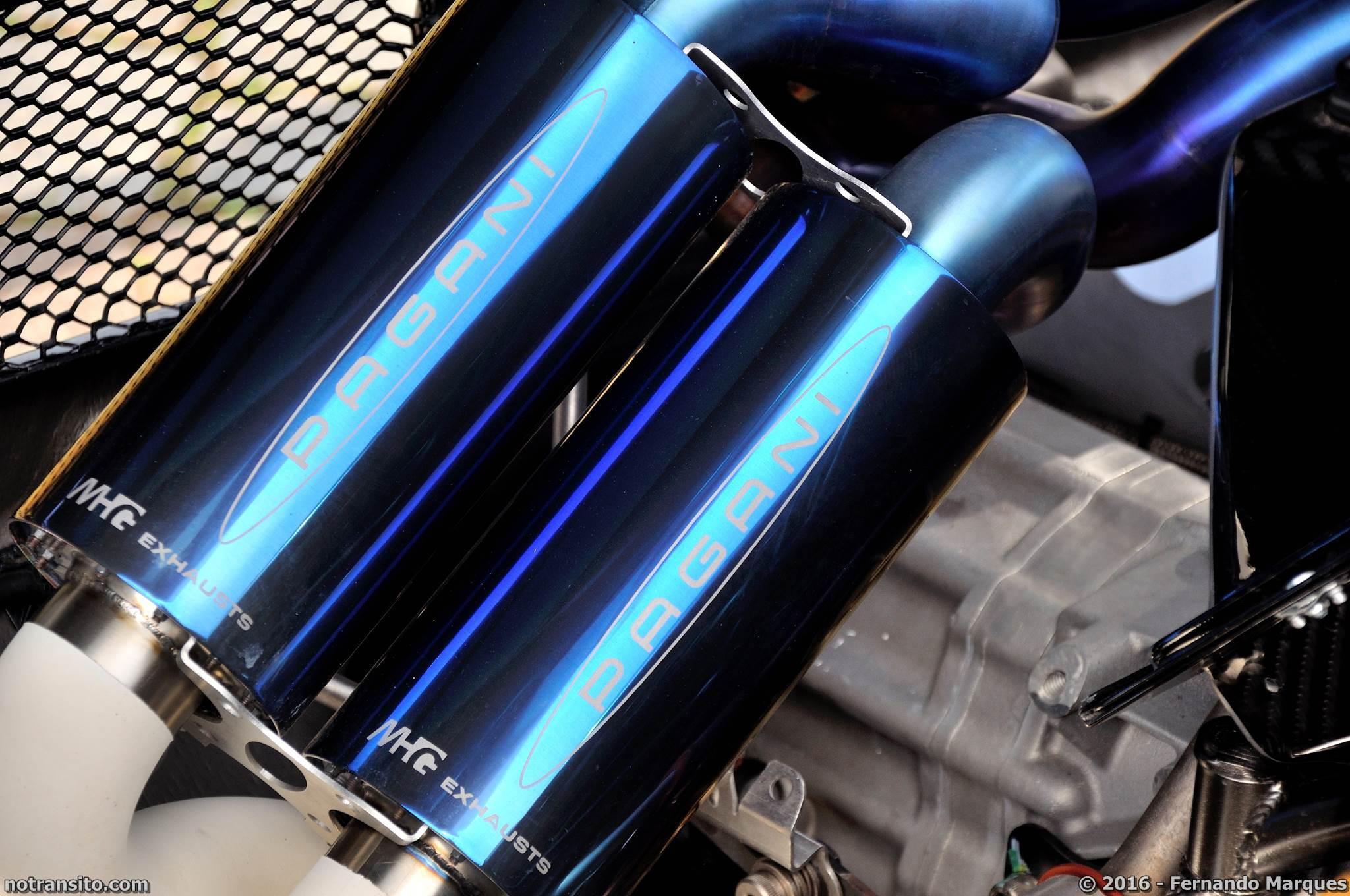 Pagani Zonda F Blue 76130, Dream Route