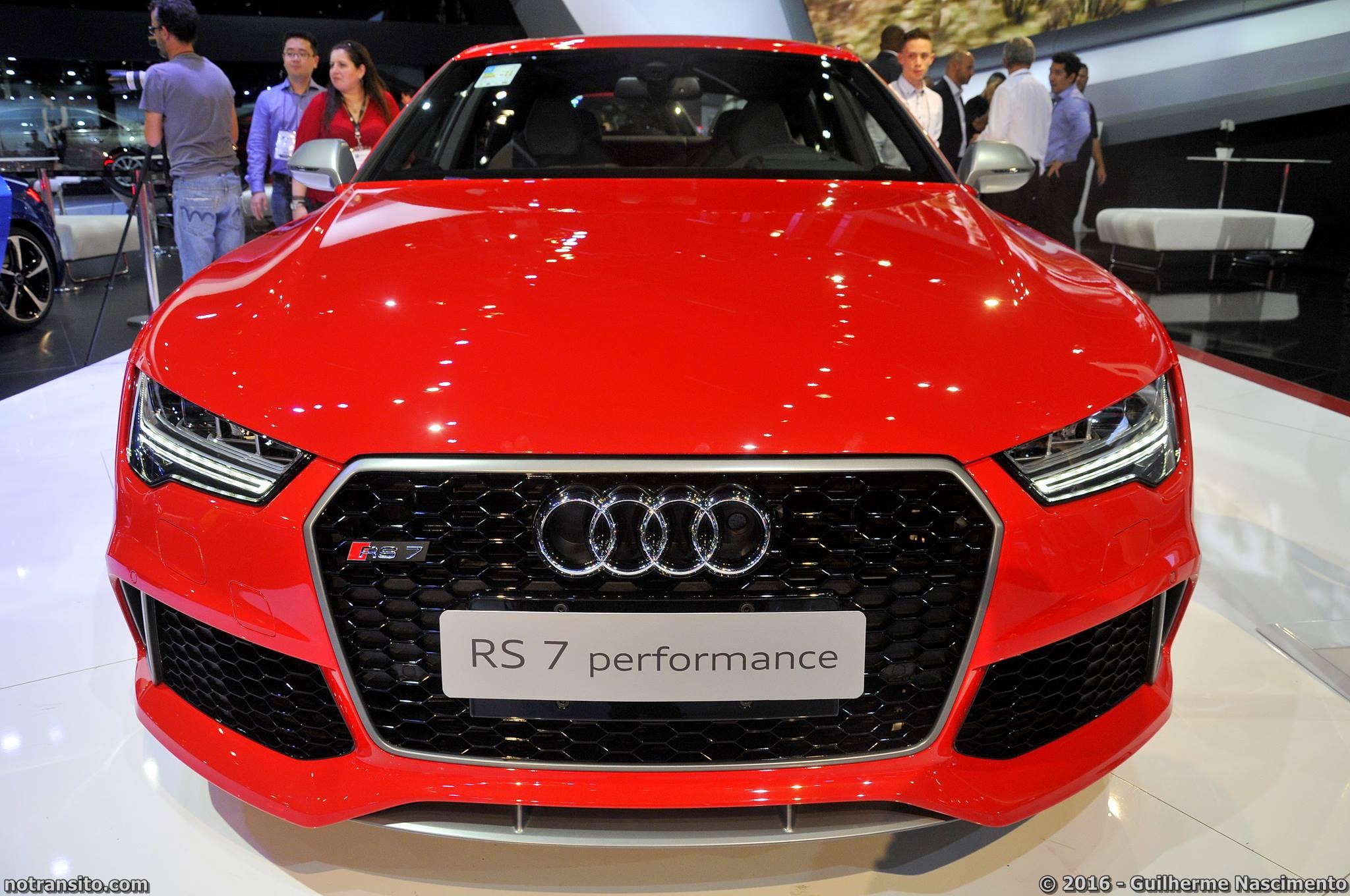 Audi RS7 Sportback Performance, Salão do Automóvel 2016, 29º Salão do Automóvel de São Paulo