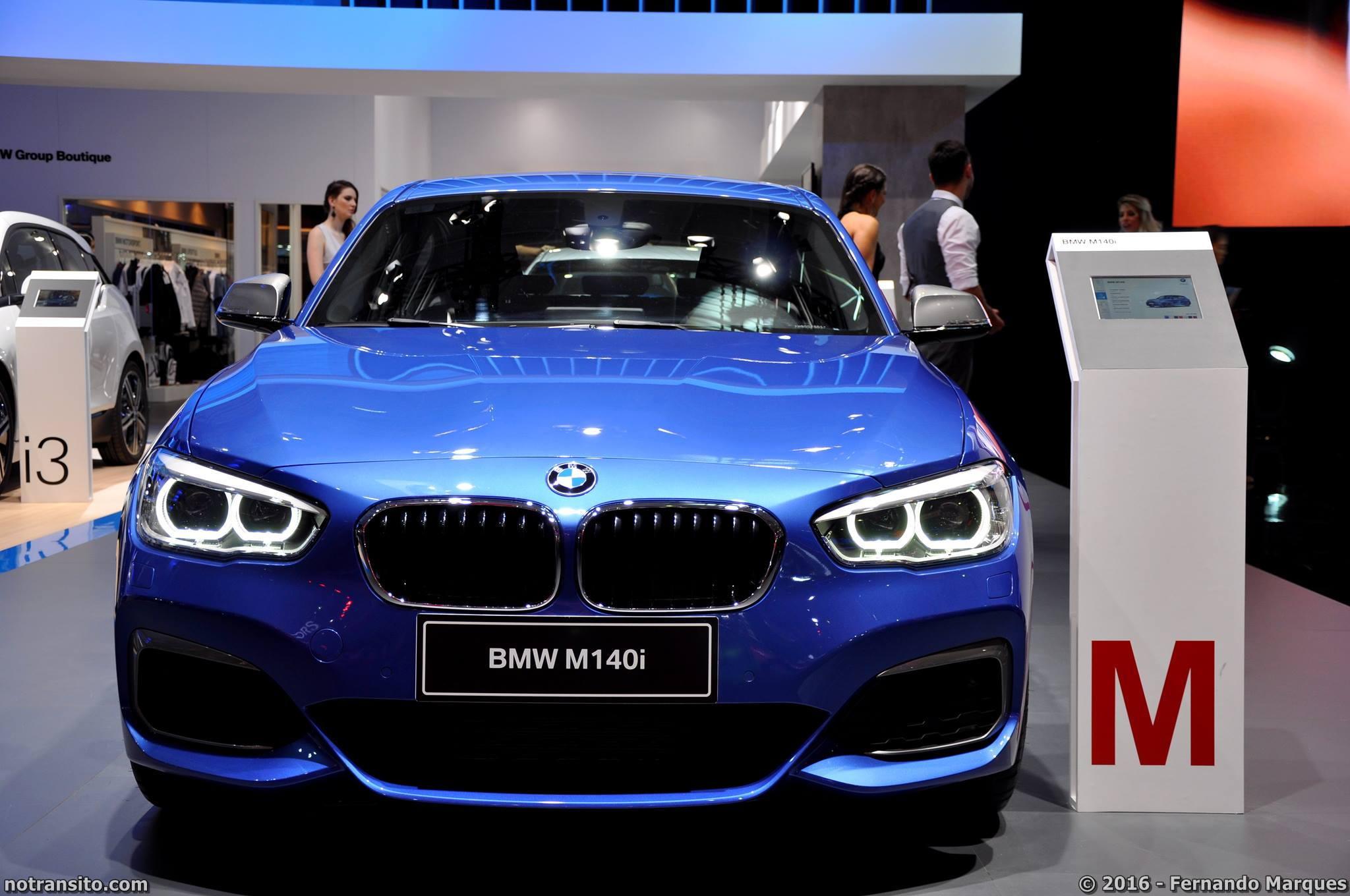 Um dos lançamentos da marca para este Salão do Automóvel foi o BMW M140i, o qual já publicamos uma matéria durante a cobertura do evento.