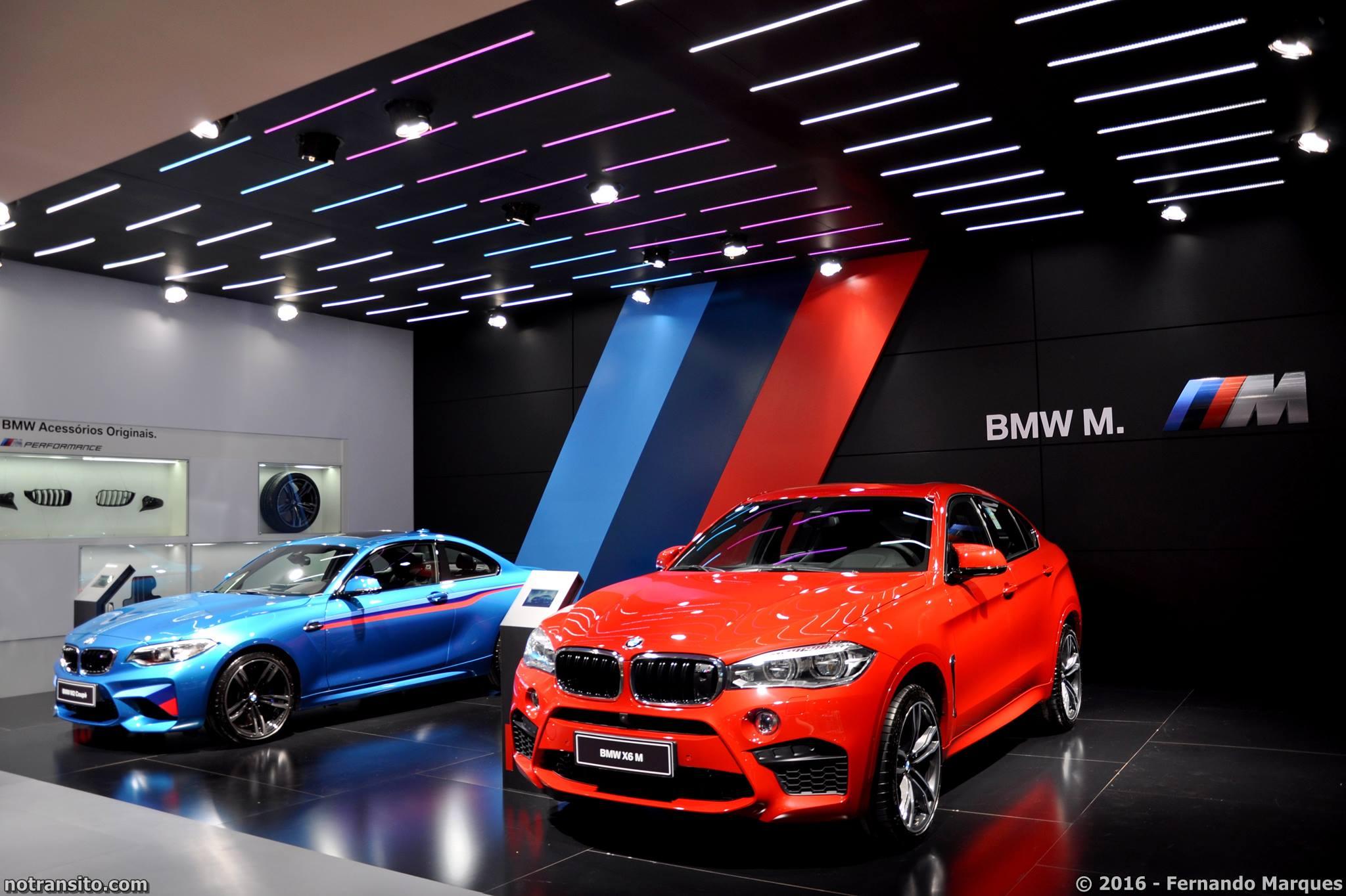BMW M2 & BMW X6 M na área exclusiva da linha M.